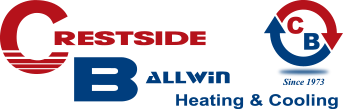 Crestside Ballwin Heating & Cooling Logo