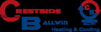 Crestside Ballwin Heating & Cooling Logo